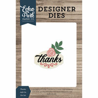 Echo Park - Designer Dies - Thanks Add-On