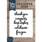 Echo Park - Designer Dies - Mini Messages