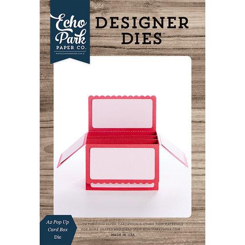 Echo Park - Designer Dies - Pop Up Card - A2 Box