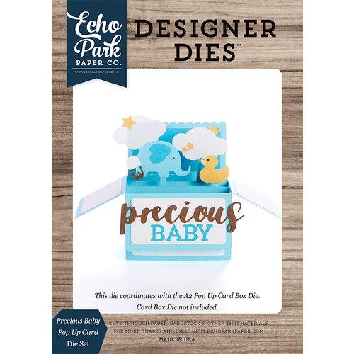 Echo Park - Designer Dies - Pop Up Card - Precious Baby