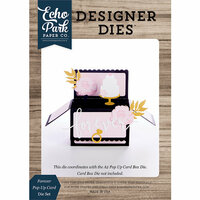 Echo Park - Designer Dies - Pop Up Card - Forever