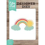 Echo Park - Designer Dies - Rainbow and Sunshine