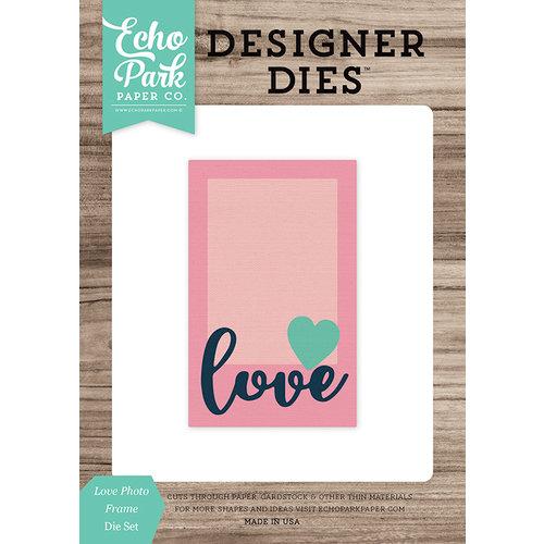 Echo Park - Designer Dies - Love Photo Frame