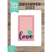Echo Park - Designer Dies - Love Photo Frame