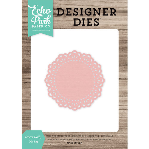 Echo Park - Designer Dies - Sweet Doily