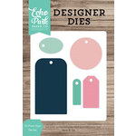 Echo Park - Designer Dies - To From Tags