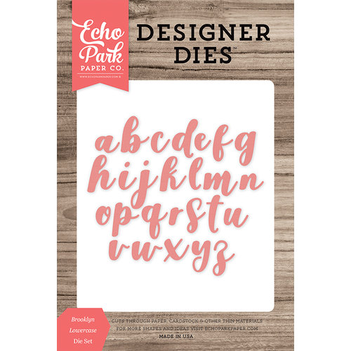 Echo Park - Designer Dies - Brooklyn Lowercase