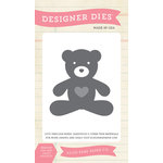 Echo Park - Everyday Collection - Designer Dies - Teddy Bear