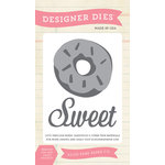 Echo Park - Children Collection - Designer Dies - Sweet Doughnut