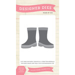 Echo Park - Spring Collection - Designer Dies - Rainboots