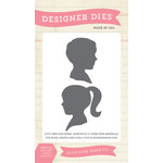Echo Park - Children Collection - Designer Dies - Sibling Silhouettes