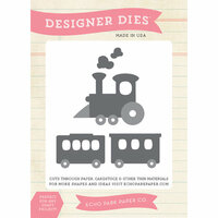 Echo Park - Designer Dies - Children Train
