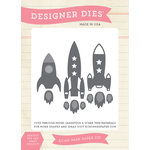Echo Park - Children Collection - Designer Dies - Rocket Ships