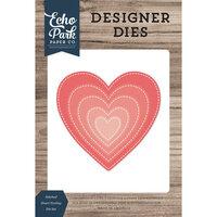 Echo Park - Designer Dies - Nesting Stitched Heart