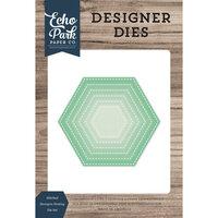 Echo Park - Designer Dies - Nesting Stitched Hexagon