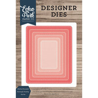 Echo Park - Designer Dies - Nesting Stitched Rounded Rectangle