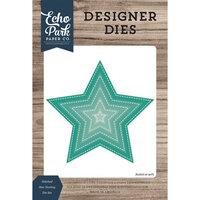 Echo Park - Designer Dies - Nesting Stitched Star