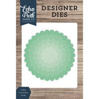 Echo Park - Designer Dies - Nesting Scallop Circle