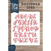 Echo Park - Designer Dies - Rosie Uppercase Alphabet