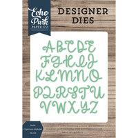Echo Park - Designer Dies - Sadie Uppercase Alphabet