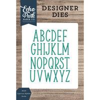 Echo Park - Designer Dies - Mckell Uppercase Alphabet