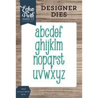 Echo Park - Designer Dies - Mckell Lowercase Alphabet Die Set