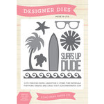 Echo Park - Summer Collection - Designer Dies - Surf's Up