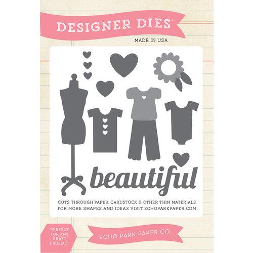 Echo Park - Children Collection - Designer Dies - Beautiful Girl