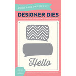 Echo Park - Designer Dies - Thought Bubbles and Hello