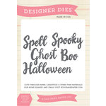 Echo Park - Fall - Designer Dies - Halloween Word
