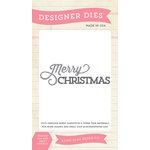 Echo Park - Christmas - Designer Dies - Merry Christmas