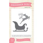 Echo Park - Christmas - Designer Dies - Reindeer Sleigh