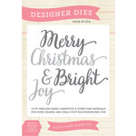 Echo Park - Christmas - Designer Dies - Christmas Word