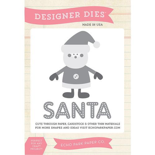 Echo Park - Christmas - Designer Dies - Santa Comes to Town
