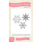 Echo Park - Winter - Designer Dies - Snowflake Set 4