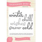 Echo Park - Winter - Designer Dies - Winter Word