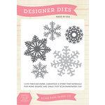 Echo Park - Winter - Designer Dies - Snowflake Set 5