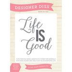 Echo Park - Sentiments - Designer Dies - Life is Good
