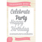 Echo Park - Sentiments - Designer Dies - Celebration Word