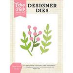 Echo Park - Designer Dies - Floral Leaves