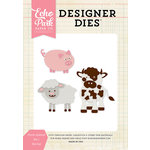Echo Park - Designer Dies - Farm Animal Set 1