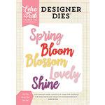 Echo Park - Designer Dies - Spring Word Set
