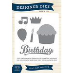 Echo Park - Designer Dies - Large - Happy Birthday