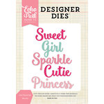 Echo Park - Designer Dies - Girl Word Set