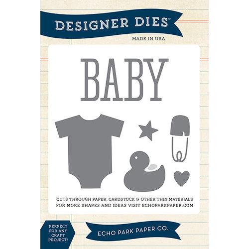 Echo Park - Designer Dies - Large - Bundle of Joy