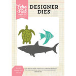 Echo Park - Designer Dies - Sea Life Animals Set 1