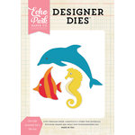 Echo Park - Designer Dies - Sea Life Animals - Set 2