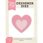Echo Park - Designer Dies - Stitched Hearts