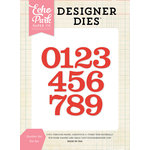 Echo Park - Designer Dies - Number Set
