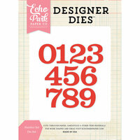 Echo Park - Designer Dies - Number Set